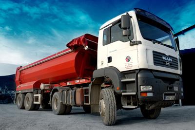 camion banera: